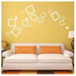 Kwadraty dekoracyjne 3D