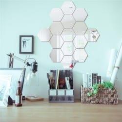 Lustro akrylowe heksagon - sześciokąt