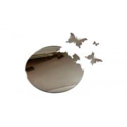 Nowoczesne lustro Motyl