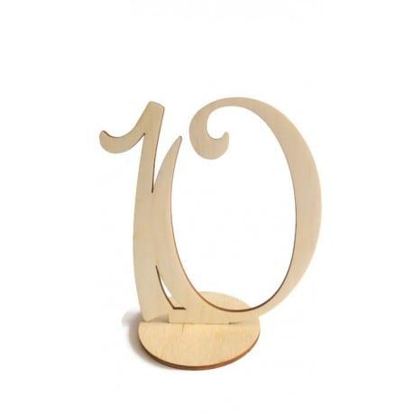 Numery stołów weselnych ślub