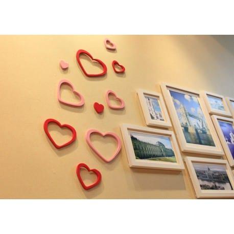 Serce dekoracyjne 3D